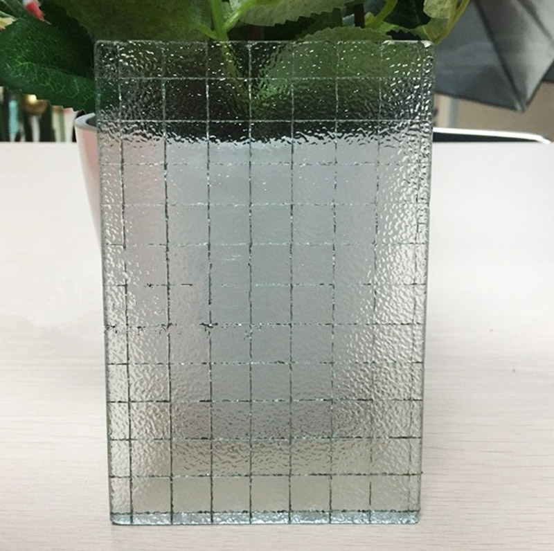 Decorative Wired glass