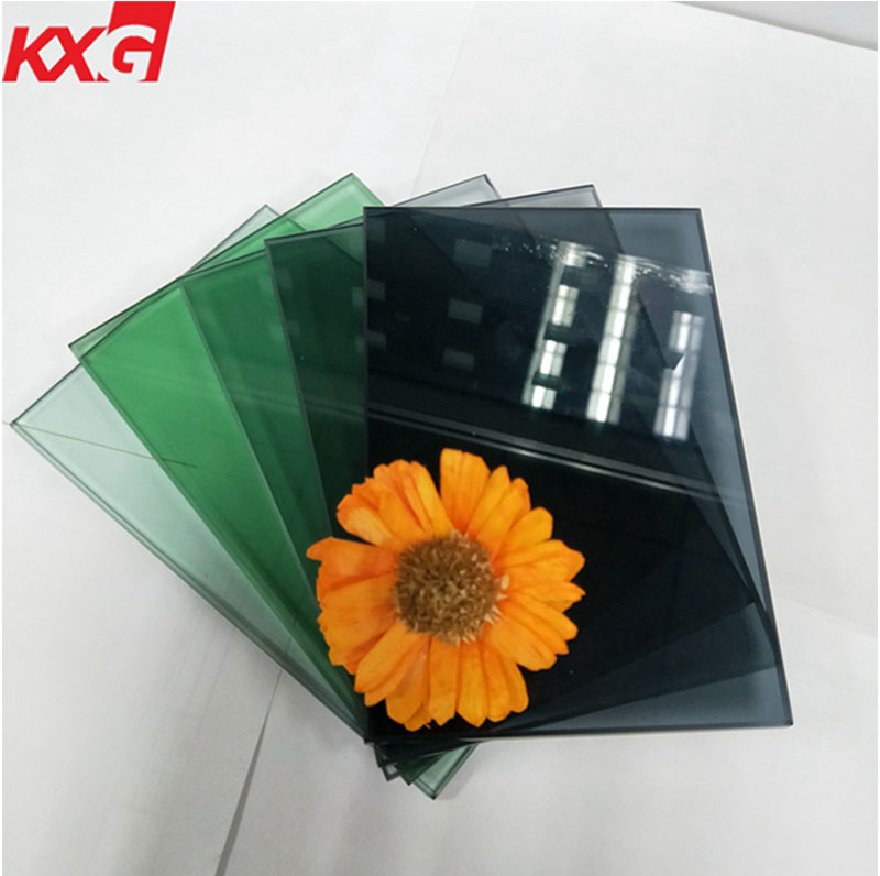 ce certification tempered tinted glass make in china